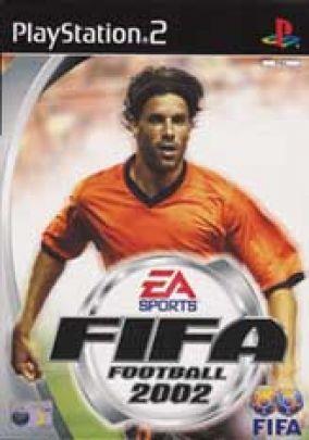 Copertina del gioco Fifa 2002 per PlayStation 2
