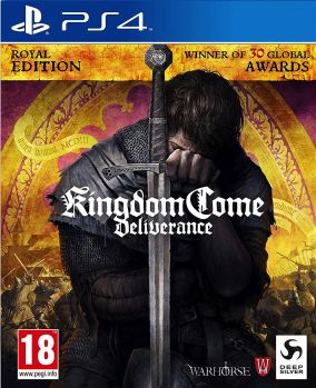 Copertina del gioco Kingdom Come: Deliverance Royal Edition per PlayStation 4