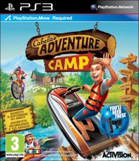 Copertina del gioco Cabela's Adventure Camp per PlayStation 3
