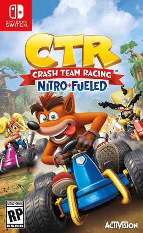 Copertina del gioco Crash Team Racing Nitro Fueled per Nintendo Switch