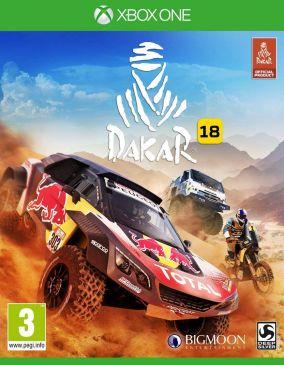 Copertina del gioco Dakar 18 per Xbox One