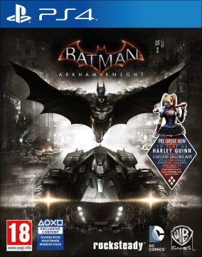 Immagine della copertina del gioco Batman: Arkham Knight per PlayStation 4