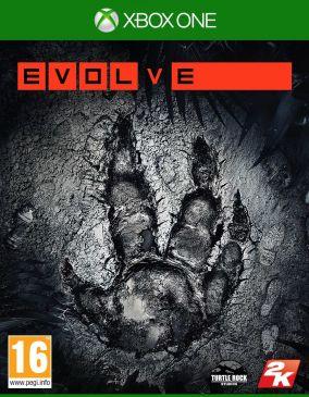 Immagine della copertina del gioco Evolve per Xbox One