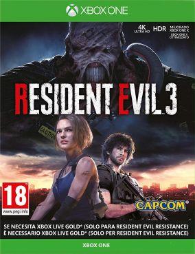 Immagine della copertina del gioco Resident Evil 3 per Xbox One
