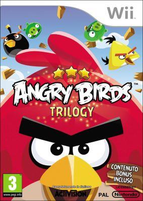 Copertina del gioco Angry Birds Trilogy per Nintendo Wii