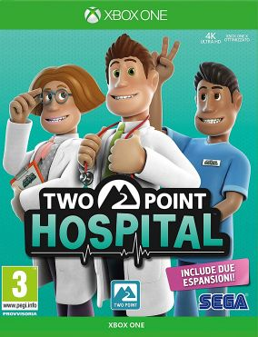 Copertina del gioco Two Point Hospital per Xbox One