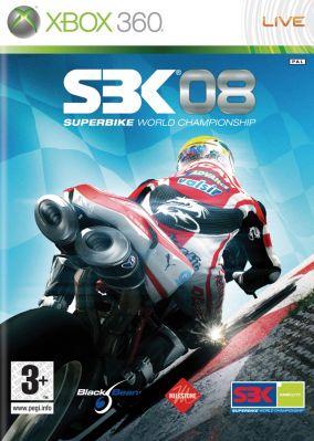 Immagine della copertina del gioco SBK-08 Superbike World Championship per Xbox 360