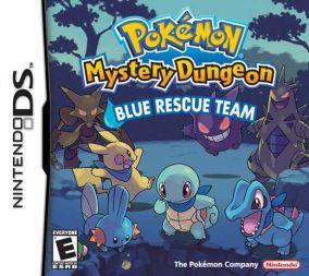 Immagine della copertina del gioco Pokemon Mystery Dungeon: Squadra Blu per Nintendo DS