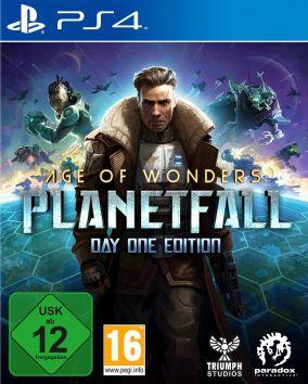 Immagine della copertina del gioco Age of Wonders: Planetfall per PlayStation 4