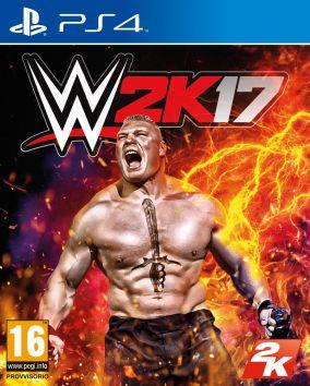 Immagine della copertina del gioco WWE 2K17 per PlayStation 4