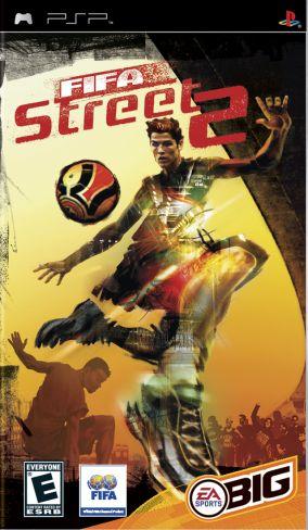 Immagine della copertina del gioco FIFA Street 2 per Playstation PSP
