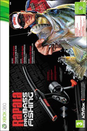 Copertina del gioco Rapala Pro Bass Fishing per Xbox 360