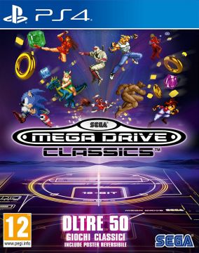 Immagine della copertina del gioco SEGA Mega Drive Classics per PlayStation 4