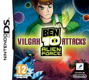 Immagine della copertina del gioco Ben 10: Alien Force: Vilgax Attacks per Nintendo DS