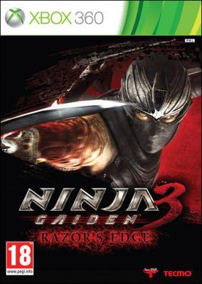 Copertina del gioco Ninja Gaiden 3: Razor's Edge per Xbox 360