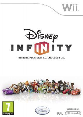 Copertina del gioco Disney Infinity per Nintendo Wii