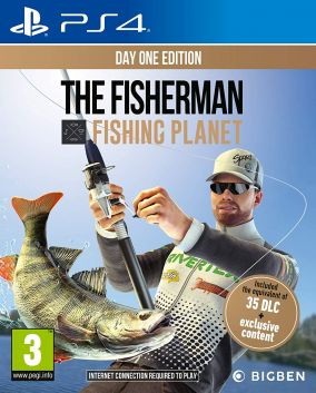 Copertina del gioco The Fisherman - Fishing Planet per PlayStation 4