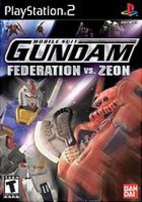 Copertina del gioco Mobile Suit Gundam: Federation vs Zeon per PlayStation 2