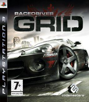 Immagine della copertina del gioco Race Driver: GRID per PlayStation 3