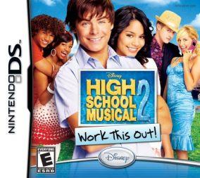 Immagine della copertina del gioco High School Musical: Work This Out per Nintendo DS