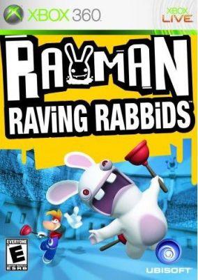 Immagine della copertina del gioco Rayman: Raving Rabbids per Xbox 360