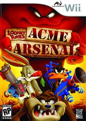 Immagine della copertina del gioco Looney Tunes: Acme Arsenal per Nintendo Wii