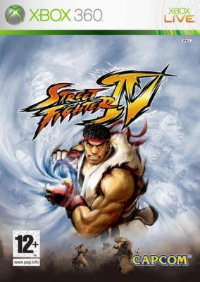 Copertina del gioco Street Fighter IV per Xbox 360