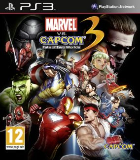 Immagine della copertina del gioco Marvel vs. Capcom 3: Fate of Two Worlds per PlayStation 3