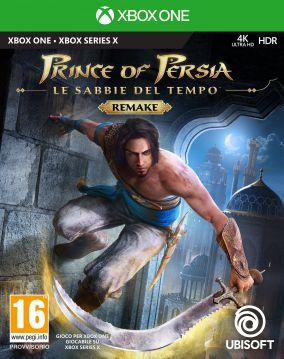 Copertina del gioco Prince of Persia: Le Sabbie del Tempo Remake per Xbox One