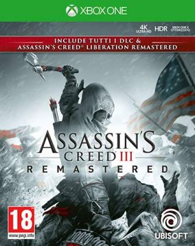 Copertina del gioco Assassin's Creed III Remastered per Xbox One