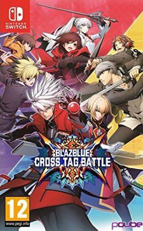 Immagine della copertina del gioco BlazBlue Cross Tag Battle per Nintendo Switch