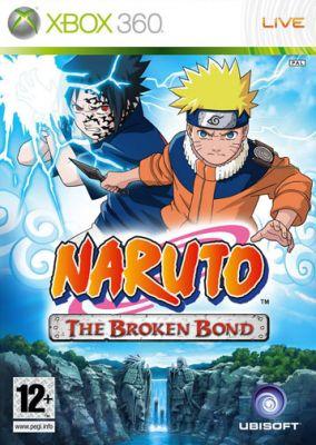 Immagine della copertina del gioco Naruto: The Broken Bond per Xbox 360