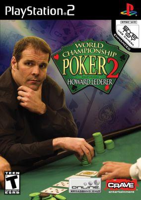 Copertina del gioco World Championship Poker 2: Featuring Howard Lederer per PlayStation 2