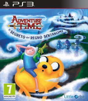 Copertina del gioco Adventure Time: Il segreto del Regno Senzanome per PlayStation 3