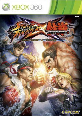 Copertina del gioco Street Fighter X Tekken per Xbox 360