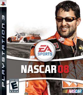 Immagine della copertina del gioco Nascar 08 per PlayStation 3