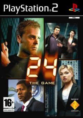 Copertina del gioco 24: the game per PlayStation 2
