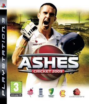 Copertina del gioco Ashes Cricket 2009 per PlayStation 3