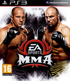 Immagine della copertina del gioco EA Sports MMA per PlayStation 3