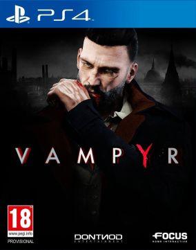 Immagine della copertina del gioco Vampyr per Playstation 4