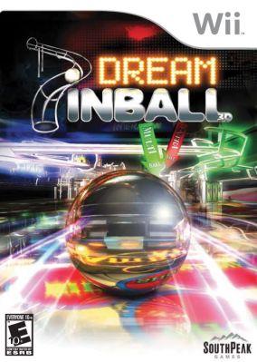 Immagine della copertina del gioco Dream Pinball 3D per Nintendo Wii