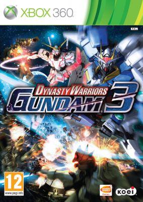 Copertina del gioco Dynasty Warriors: Gundam 3 per Xbox 360