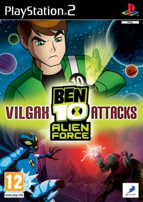 Copertina del gioco Ben 10: Alien Force: Vilgax Attacks per PlayStation 2