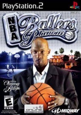 Copertina del gioco NBA Ballers Phenom per PlayStation 2
