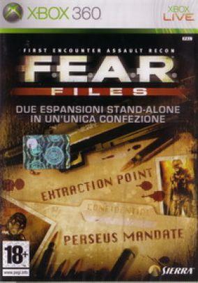 Copertina del gioco F.E.A.R. Files per Xbox 360