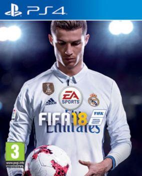 Immagine della copertina del gioco FIFA 18 per PlayStation 4