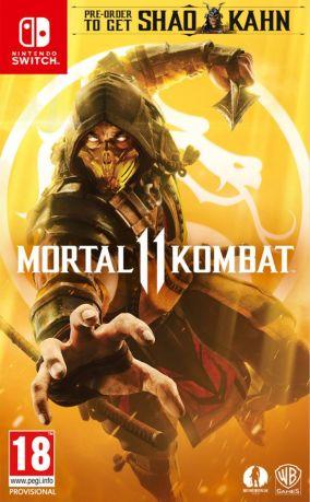 Immagine della copertina del gioco Mortal Kombat 11 per Nintendo Switch