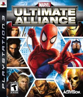 Copertina del gioco Marvel: Ultimate Alliance per PlayStation 3