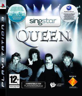 Copertina del gioco SingStar Queen per PlayStation 3