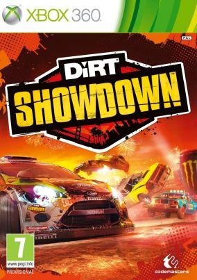 Copertina del gioco DiRT Showdown per Xbox 360